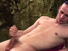 Big Dick Jeremy Young Jerks Off