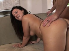 Daya Layne is a lascivious brunette who loves to blow a