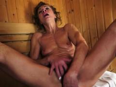 smalltits-lesbian-mature-fingering-in-sauna