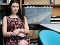 busted-teen-shoplifter-offers-her-pussy-to-a-security-guard