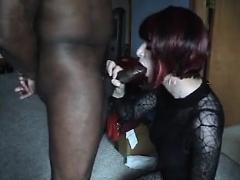 Cd Hits A Black Dick