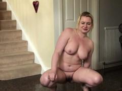 pissing-uk-slut-squats-and-wets-the-floor