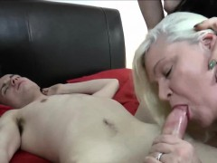 gilf-and-brunette-threesome-sex