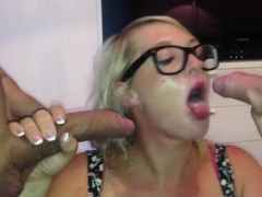 huge-titties-girl-managing-two-cocks-in-her-mouth