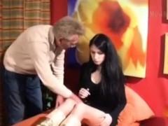 Extrem Versaut Deutsches Teen Vom Vater Beim Masturbieren