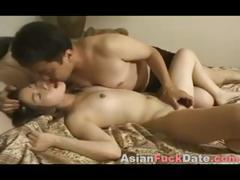 Sweet Asian Teen With Older Man