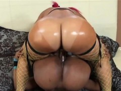 Two Ebony Lesbos Love Drilling Their Twats