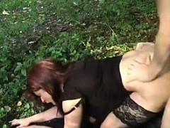 German Mama Banged In Garden By Yo Jerica From Dates25com
