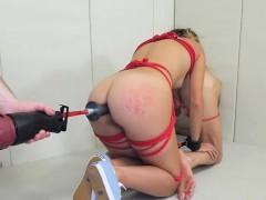Flirty Teen Is Taken In Butt Hole Asylum For Harsh Therapy