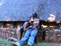 blindfolded-african-babe-sucking-stiff-cock-outdoors