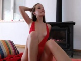 Yummy Chick Having Nice Sex Show