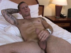 Hot And Sexy Ass Tex Long Wanking His Big Long Pole Hard