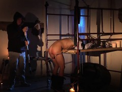 Horny Little Butt Pirate Gets Drilled With A Sex Machine