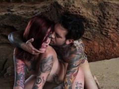 tattooed-babe-rides-cock
