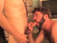 Big Strong Dick Mature Bear Fucking This Amateur Hunks Ass