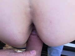 blonde-pulls-down-panties-and-fucks-in-public