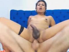 Couple Tranny Babe Super Hot Anal Sex