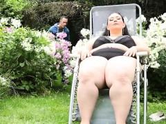 Plump Brunette Chick Sixty Nine Big Dick Licking