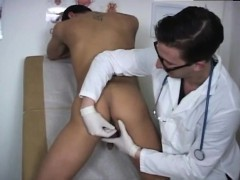 Gay Doctor Examines Sexy Men Locker Room Stripping Out Of My