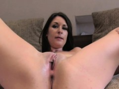 sexy-brunette-receives-big-facial-on-casting