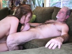 Family Strokes Step Dad And Playmate's Daughter Fucks With M