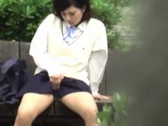 Kinky Student Masturbates
