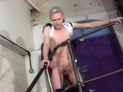 Horny Boys Jerk Off At Their Workplace