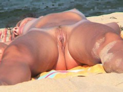 close-up-pussy-nudist-beach-voyeur-shaved-babe-video