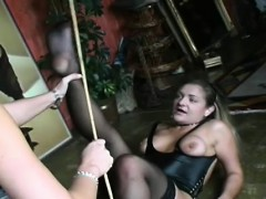 Bondage Act With A Guy Who Gets Tortured By Female dom