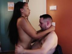 Ebony Hooker Tits Fucked