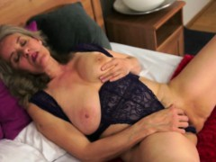 Bigtit Granny Jizzed In Mouth After Fucking