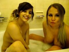 lesbian-teen-shower-sceene-at-home