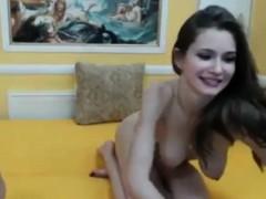 Hot Sexy Russian Teen Fucked Hard On Webcam