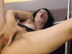 tasty-milf-tramp-rubbing-her-pussy-until-she-squirts-hard