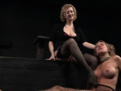restrained-busty-milf-pissing-in-bdsm-action