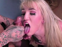 Ebony Shemale Honey Pounds A Blonde Ts