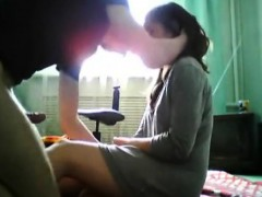 Cute Girlfriend Enjoys Hard Sex At Home