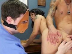 Foxy Girl Is Brought In Butthole Madhouse For Uninhibited Tr