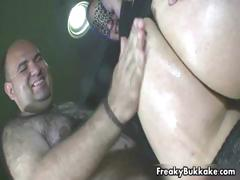 Filthy Girl Prepares To Eat A Lot Of Cum Part4