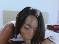 Chocolate Big Tit Beauty Cocked From Behind