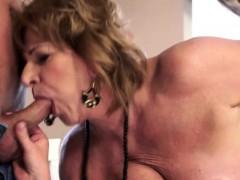 Filthy Granny Seduces Teenage Boy