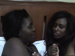 ebony chicks need pleasing each other's tight pussies. they – Free XXX Lesbian Iphone