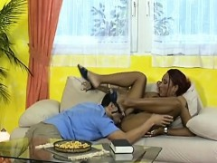 african babe gets shaved vagina licked and fucked
