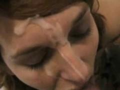 british indian college babe blowing cock taking cumshot