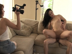 Chick Gets Off At The Teen Casting Getting Impaled On Pecker