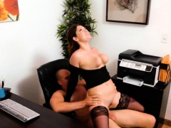 Pretty And Busty April Dawn Gives Suck And Gets Fuck