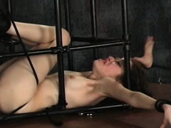 Bizarre Bondage With Hawt Mommy And Young Daughter
