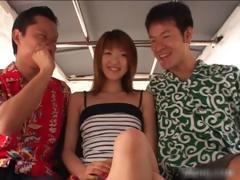 Hot Asian Redhead Babe Sucking Cock Part6