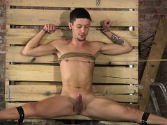 Jack Taylor Has Freaky Bondage Sex With Xavier Sibley