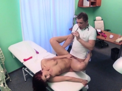 redhead-masturbates-with-sex-toy-in-hospital